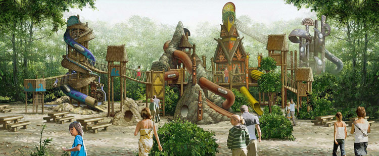 Elemental-Tower-Play-Concept-Center-Parcs-Europe