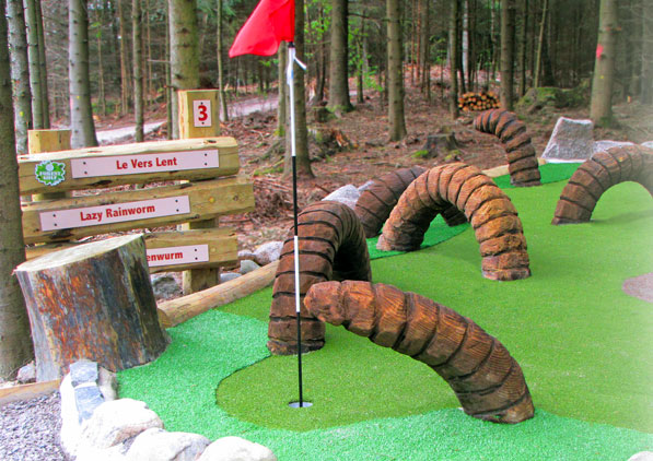 Forest Golf - Center Parcs, Europe 05